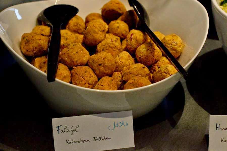 Falafel - Kichererbsenbällchen