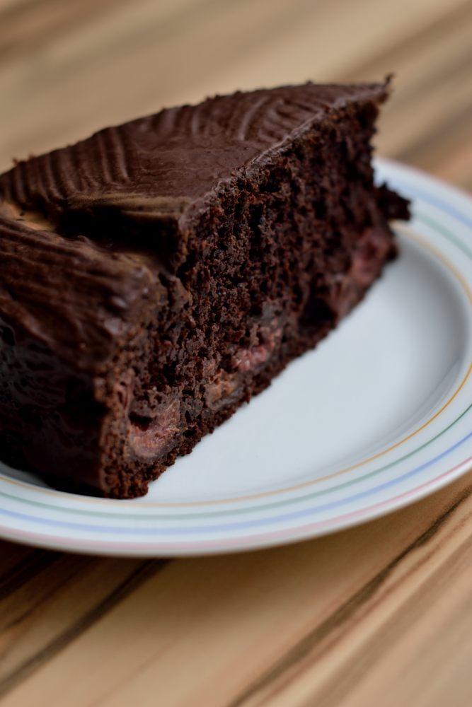 Schoko Kirschkuchen Saftig Schokoladig Vegan Und Fettarm Herbs