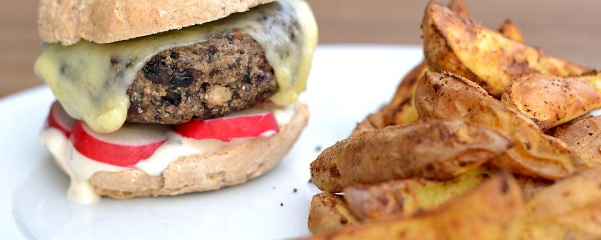Walnuss-Pilz-Burger
