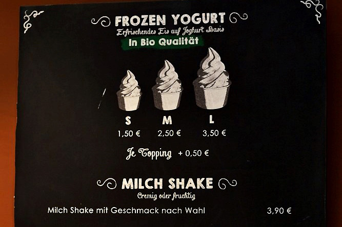 Frozen Yogurt Augsburg