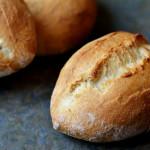 """""""No Knead""""-Weizensemmeln mit Biga für den Bread Baking Day #79"""