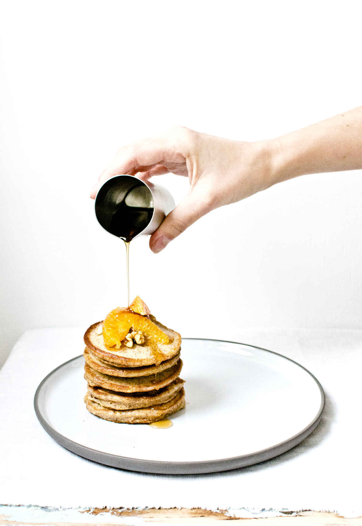Pancakes Vollkorn Julia Chestnut and Sage