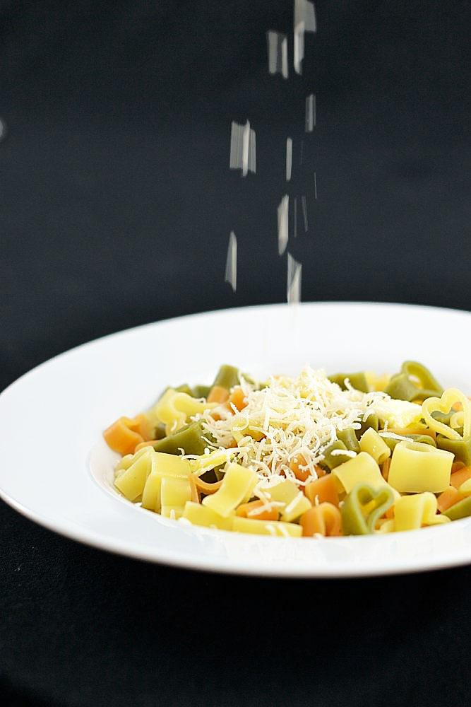 Seelentröster-Nudeln (mit Butter und Parmesan)