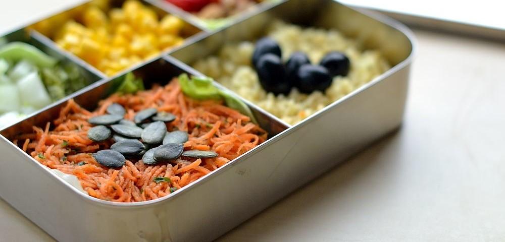 Karottensalat Mealprep Bento