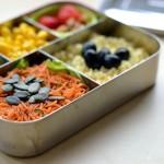 Zeit für mehr Bento! Karottensalat aus dem Kühlschrank