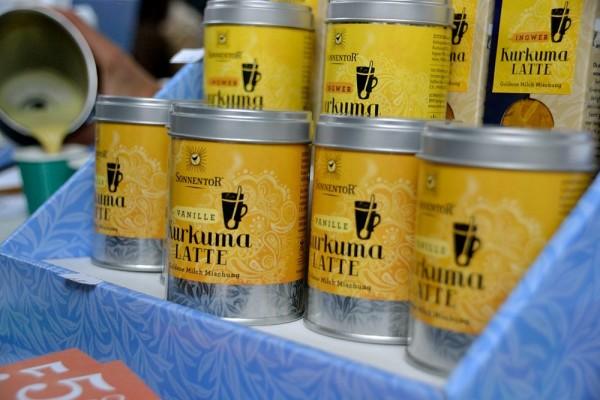 Kurkuma-Latte Sonnentor