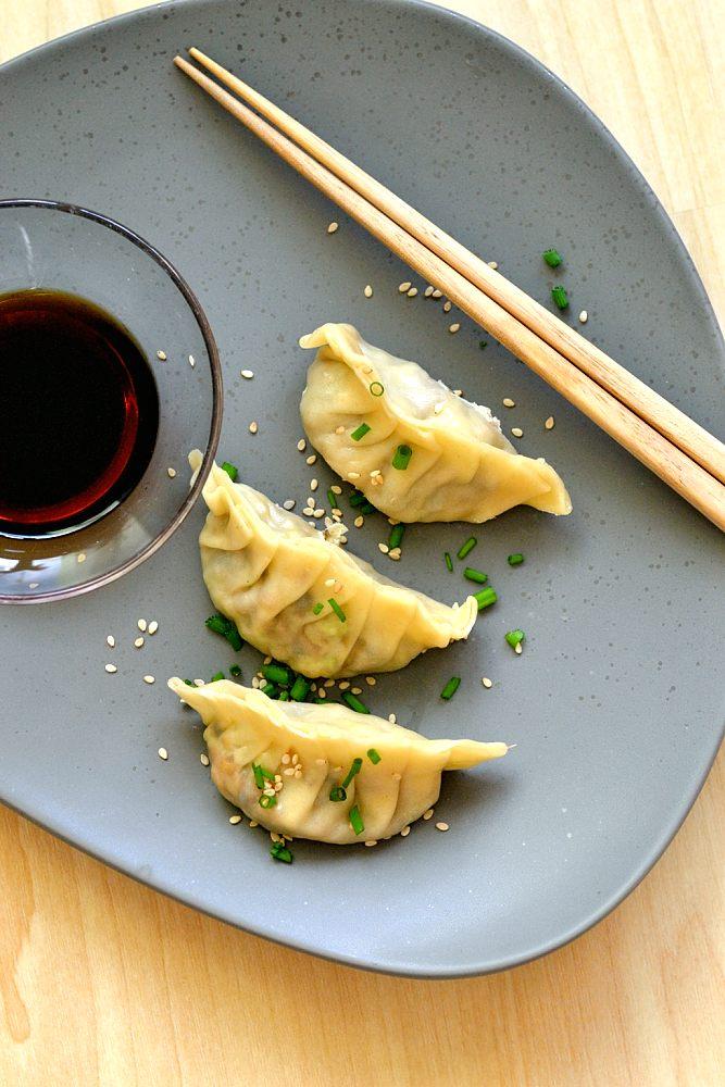 Vegetarische Gyoza/Jiaozi