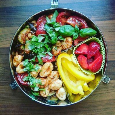 Bento Gnocchisalat zum Mitnehmen