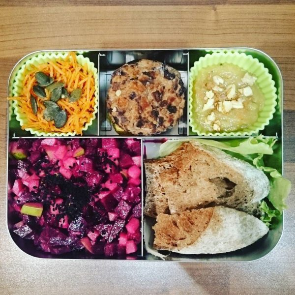 Rote Beete Salat Bento Lunchbots