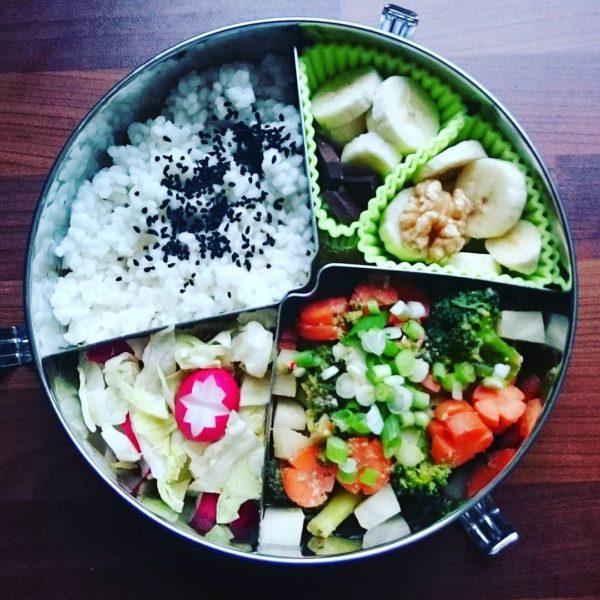 Miso Bento vegan