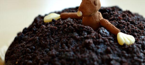 Maulwurfkuchen Schokokuchen Guinnes