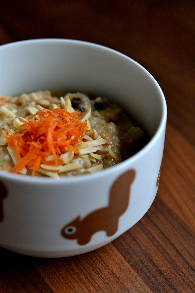 Coco Carrot Oatmeal