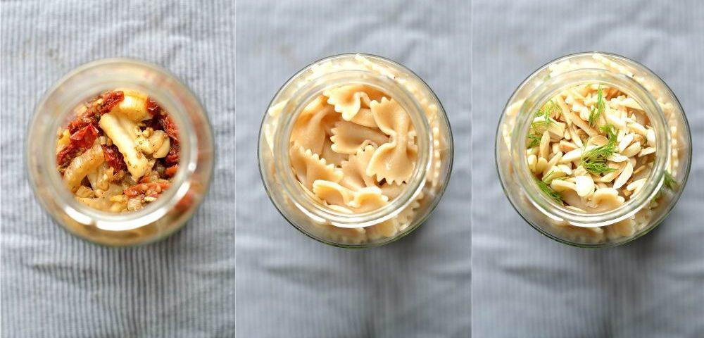 Pasta mit Fenchel und getrockneten Tomaten