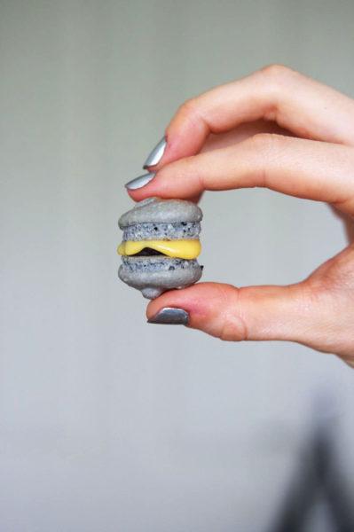 Eierlikör-Macarons