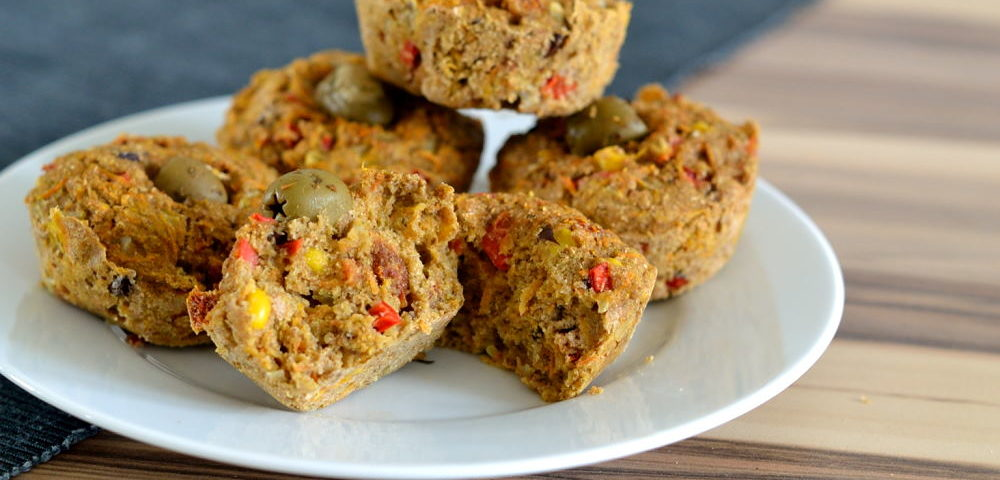 Vegane Muffins herzhaft