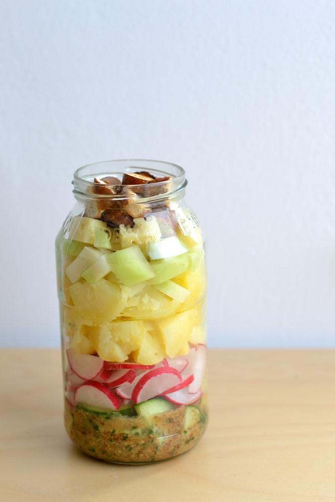 Bayerischer Brotzeit-Kartoffelsalat