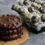 Schoko-Cake-Pops mit Ganache