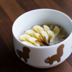 Aktuelle Obsessionen: Bananen-Porridge und Yoga