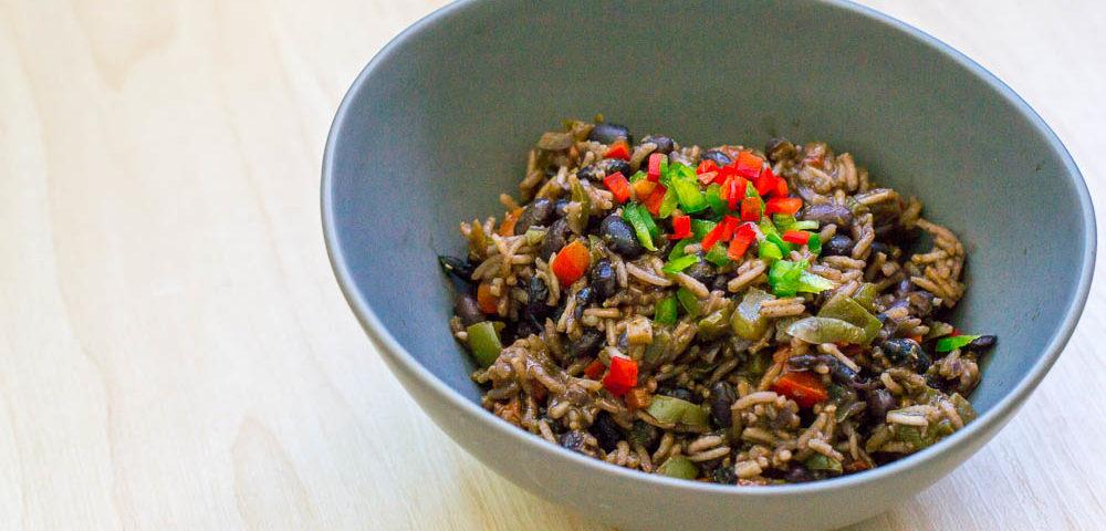 Arros Congris - Cubanisches Reis-Bohnen-Gericht