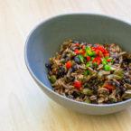 Arroz Congris - Kubanischer Reis mit schwarzen Bohnen