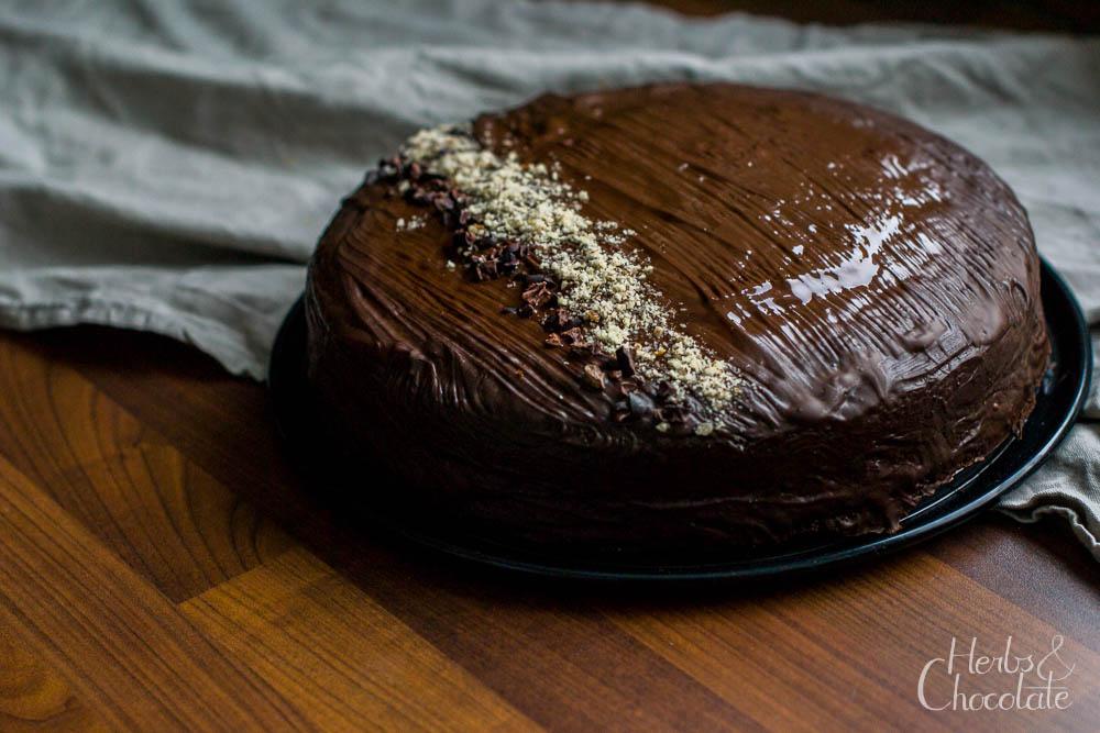 Schokokuchen mit Sauerteig – 089 kulinarisch präsentiert nicht-fastentaugliches