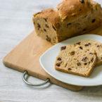 "Süße Variante des ""Langschläfer""-Brots mit Rosinen #synchronbacken"