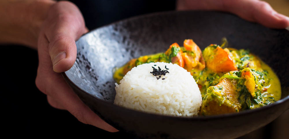 Kürbis-Curry mit Kokos