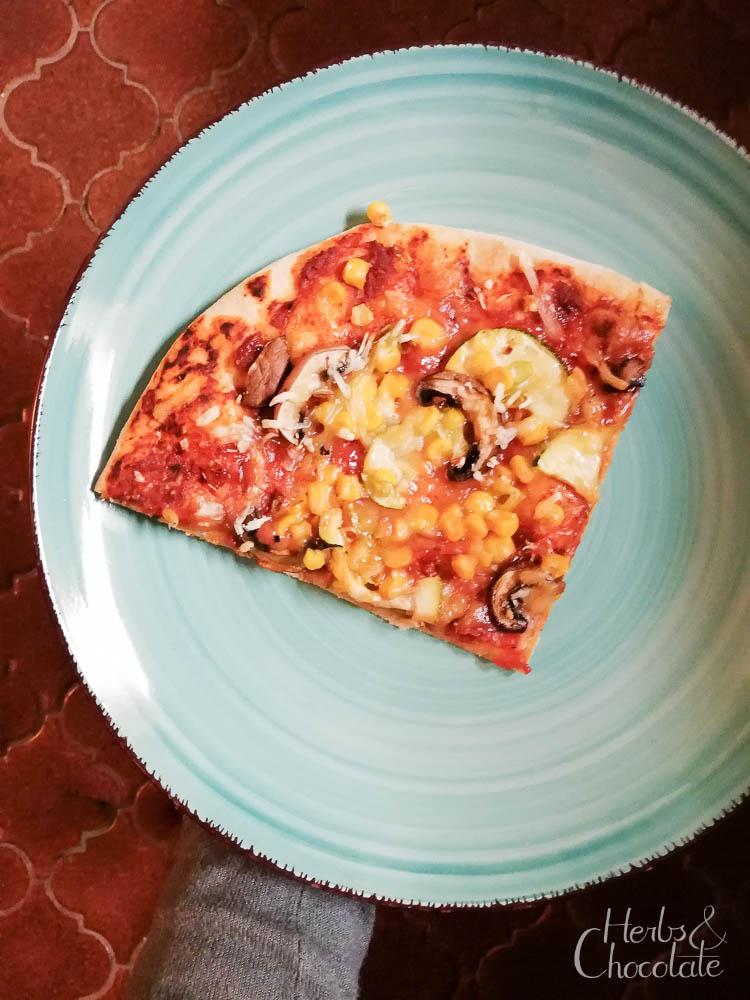 Schnelle Alltags-Pizza